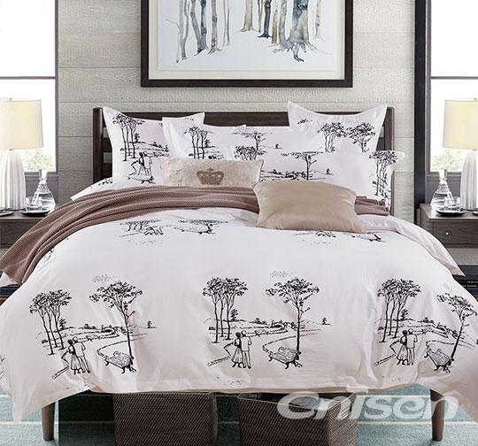 酒店活性印花床上用品