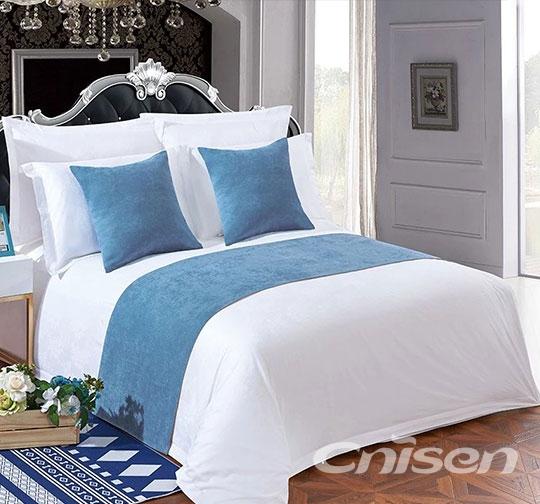 酒店布草床围巾