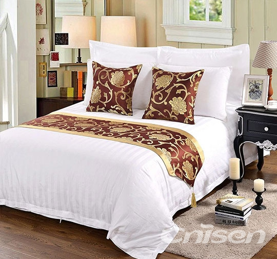 酒店奏折布草床围巾