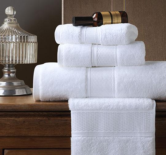 进口精梳棉亚马逊缎档酒店毛巾