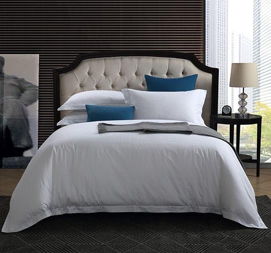酒店1cm/3cm缎条布草床上用品