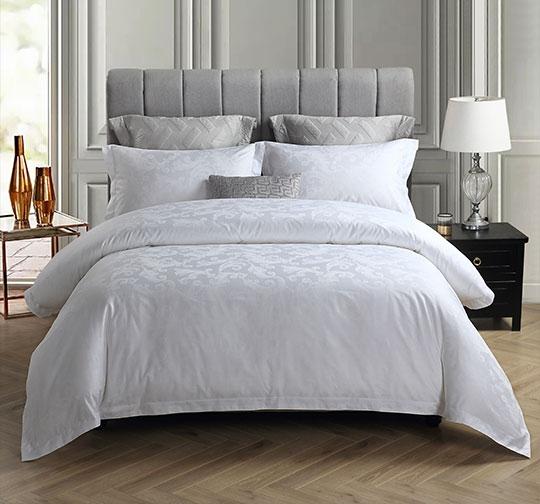 提花酒店床上用品布草套件