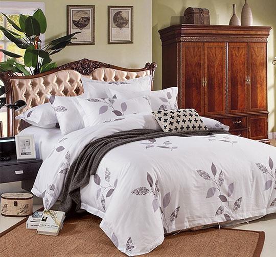 活性印花酒店床上用品布草套件